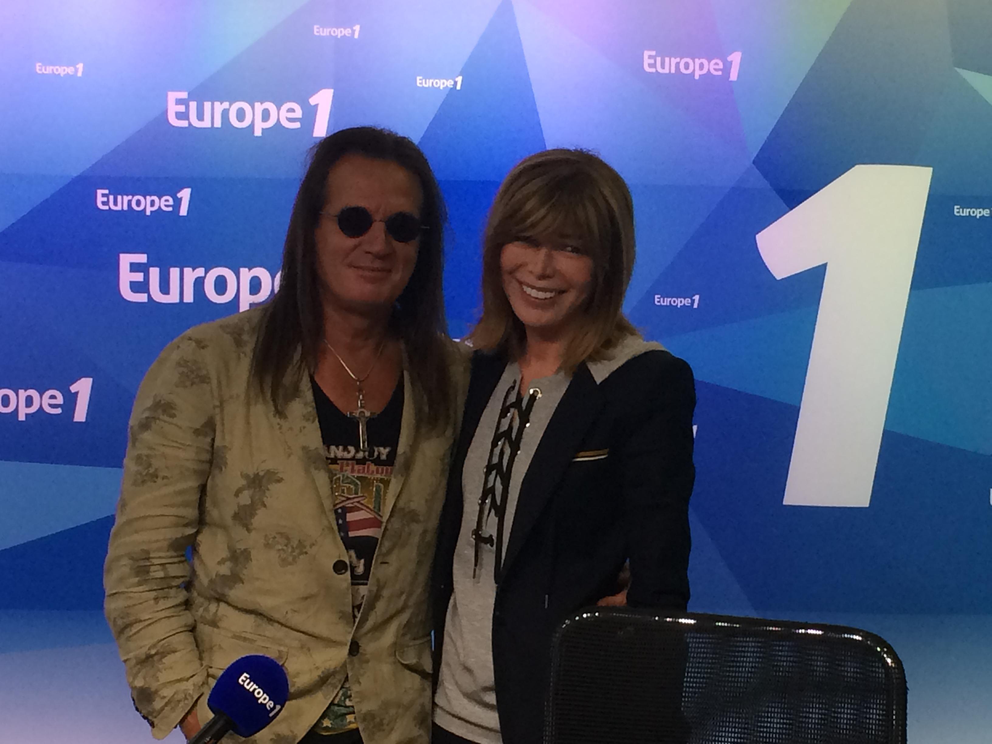 27 septembre 2015 – Francis Lalanne sur Europe 1 avec Isabelle Morizet