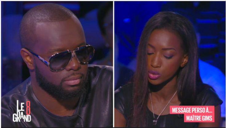 3 septembre 2015 – Sur le plateau de D8 pour l'émission «Le grand 8» avec Hapsatou Sy portant des bijoux Dorjaï