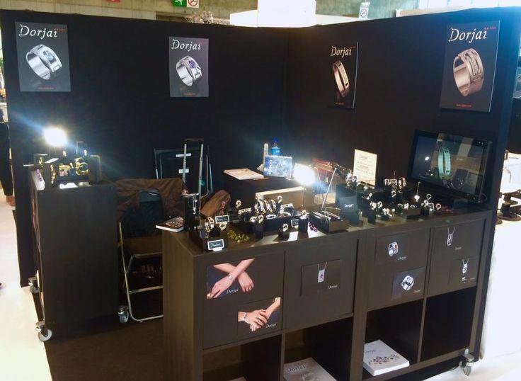 6 septembre 2015 – En direct du salon BIJORHCA à Paris, sur le stand de Dorjaï, avec Hapsatou Sy