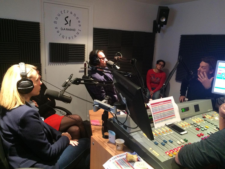 25 novembre 2015 – 12h de radio avec Souffrances Invisibles