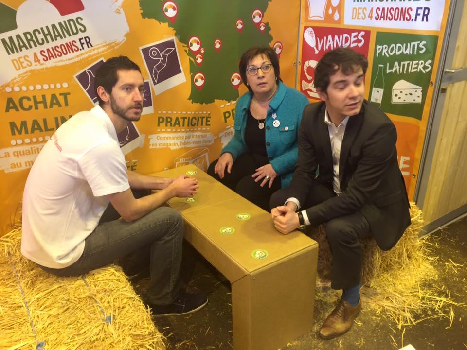 Marchands des 4 Saisons – Interview Public Sénat