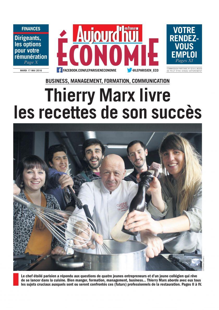 Marchands des 4 Saisons – RDV «Face aux entrepreneurs» avec Thierry Marx