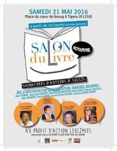 Salon du livre - Rotary club Evry Val de Seine