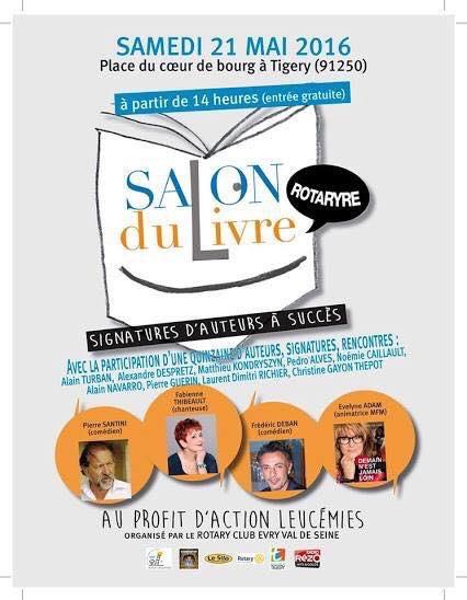 Salon du livre Rotary le 21 mai 2016