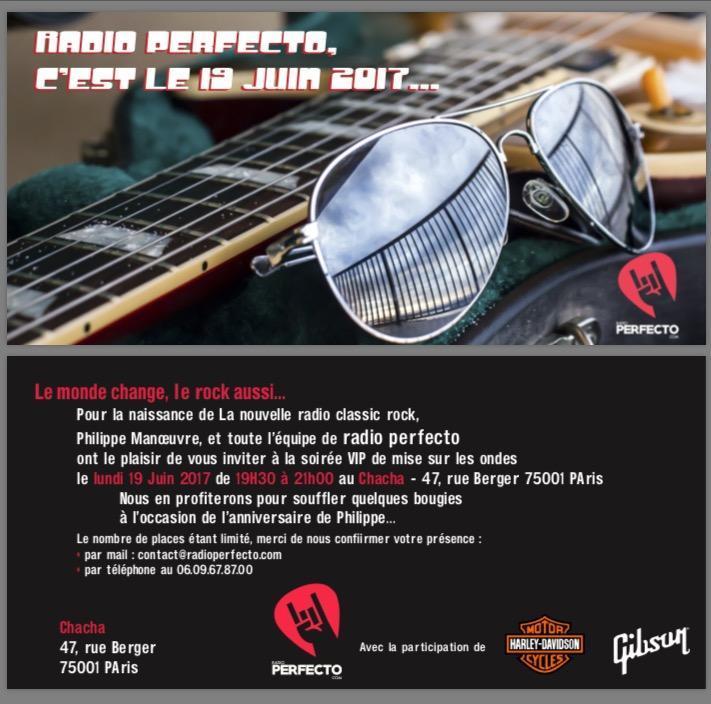 Lancement de Radio Perfecto
