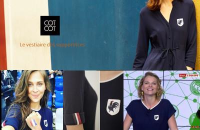 COTCOT, le vestiaire des supportrices