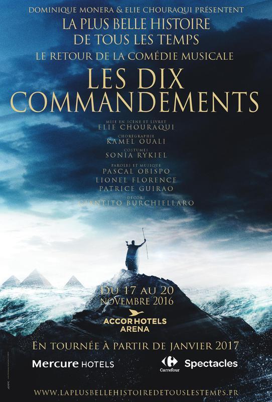 Affiche Les 10 Commandements