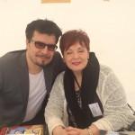Fabienne Thibeault et Pedro Alves