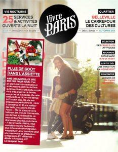 Vivre Paris - Le comptoir local